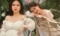 Phanh Lee tung bộ ảnh mang bầu đẹp như mơ