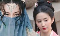 Tạo hình đẹp kinh diễm của Địch Lệ Nhiệt Ba và Lưu Diệc Phi trong phim cổ trang mới