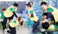 Loạt ảnh 'khó đỡ' của Ninh Dương Lan Ngọc gây 'sốt' Running Man