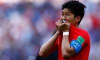 Son Heung Min bật khóc ở World Cup 2018