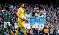 Man City toàn thắng 3 trận gần nhất trước Brighton.