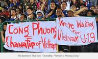 Công Phượng bị CĐV Thái Lan ví là 'Chanathip Việt Nam'