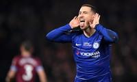 Eden Hazard bùng nổ trước West Ham