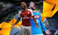 Lịch thi đấu tứ kết Europa League hôm nay: Arsenal đại chiến Napoli