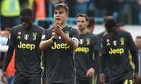 Paulo Dybala và đội dự bị của Juve thua sốc SPAL