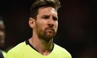 Barca để dành Lionel Messi cho trận tái đấu M.U