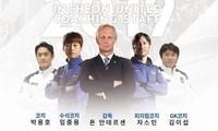 Lim Joong-yong (thứ 2 từ trái sang) sẽ dẫn dắt Incheon United thay Jorn Andersen