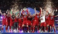 Liverpool lần thứ 6 vô địch Champions League/Cup C1 thứ sáu (1977, 1978, 1981, 1984, 2005, 2019).