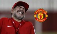 Diego Maradona tự tin giúp M.U thoát khủng hoảng