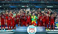 Liverpool vô địch siêu cúp châu Âu 2019.