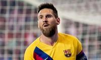 Lionel Messi lập kỷ lục khủng ở Champions League.