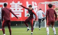 Tuyển Trung Quốc tập huấn tại Quảng Châu.