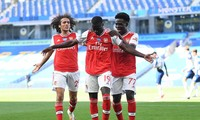 Bàn thắng đẹp mắt của Pepe không đủ giúp Arsenal có điểm.