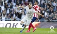 Phong độ tuyệt vời của Benzema giúp Real vượt khó.