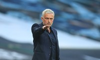 Jose Mourinho không hài lòng với thái độ thi đấu của Tottenham.