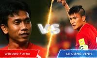 Công Vinh thất bại trong cuộc bầu chọn với Widodo Putra.