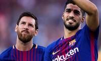 Messi và Suarez rất thân thiết ở Barcelona.