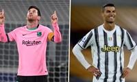 Messi tỏa sáng đánh bại Juventus, Barca vội 'cà khịa' Ronaldo