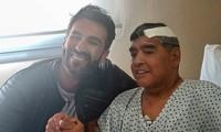 Huyền thoại Maradona xuất viện