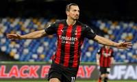 Ibrahimovic lập kỳ tích, Milan 'xử' đẹp Napoli