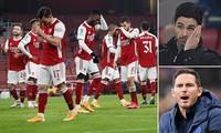 HLV Arteta thể hiện quyết tâm lớn ở màn tiếp đón Chelsea