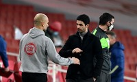 HLV Pep Guardiola luôn đánh giá Mikel Arteta rất cao.