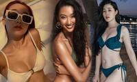 'Bỏng mắt' với những bức hình bikini gợi cảm của dàn nữ chính 'Người ấy là ai'