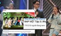 'Rap Việt' tiếp tục công phá kỷ lục, nữ thí sinh đầu tiên gây bất ngờ