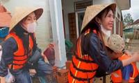 Thủy Tiên tài trợ học phí đến hết đại học cho 2 em nghèo vùng lũ