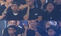 Phì cười trước biểu cảm của 2 con trai Xuân Bắc khi quán quân Rap Việt được xướng tên