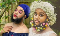 Nữ người mẫu có râu tự tin về vẻ ngoài gợi cảm dù khác biệt