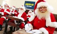 Trường học dành cho ông già Noel trong mùa dịch COVID-19