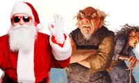 Bất ngờ với 13 phiên bản của ông già Noel trên thế giới