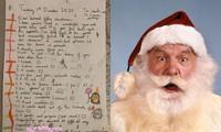 Phì cười với bức thư xin ông già Noel 12 món quà xa xỉ của cô bé 9 tuổi