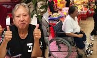 Hình ảnh mới nhất của 'siêu sao võ thuật' Hồng Kim Bảo sau khi sụt cân, ngồi xe lăn