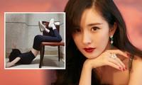 Khoe thân hình nuột nà với thử thách 'vòng eo truyện tranh', Dương Mịch lên tiếng xin lỗi