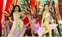 Clip: Thí sinh Chung khảo phía Bắc khoe vẻ đẹp hình thể với bikini