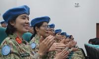 Tướng Vịnh nói gì về Bệnh viện Dã chiến cấp 2 đi GGHB Liên Hợp Quốc?