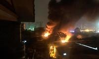 Cận cảnh hiện trường vụ cháy kinh hoàng làm nhiều người chết, mất tích