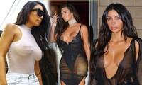 Những lần 'mặc như không' phản cảm, hứng chỉ trích của Kim Kardashian