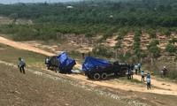 Máy bay quân sự rơi ở Khánh Hoà, hai phi công tử nạn