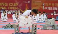 Tròn mắt với màn công phá phi phàm của võ sư Taekwondo