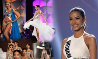 VIDEO: Khoảnh khắc ấn tượng nhất của Hoàng Thùy tại chung kết Miss Universe 2019