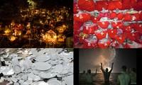 Những kiểu đón tết kì dị: Đón năm mới ở nghĩa địa, ném bát đĩa vào nhà hàng xóm