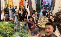 Sao Việt 30 Tết: BTV Quang Minh ăn tất niên 'theo hiến pháp và pháp luật'