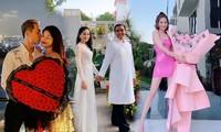Valentine ngọt ngào, ấn tượng của Quyền Linh và loạt sao Việt