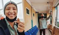Sao Việt động viên tinh thần và vật chất cho người mẫu Anh Vũ bị ung thư