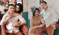 MC Hoàng Linh tung ảnh 'tình bể bình' với ông xã gây 'sốt'