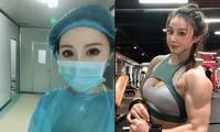 Hình thể như lực sĩ của nữ y tá Trung Quốc tham gia chống Covid -19