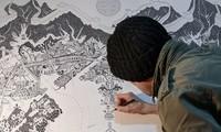 Sửng sốt với bộ tranh 14 ngày tự cách ly tại Bắc Kinh của họa sĩ người Anh